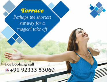 Sugam Park Terrace Homes OOH Campaign